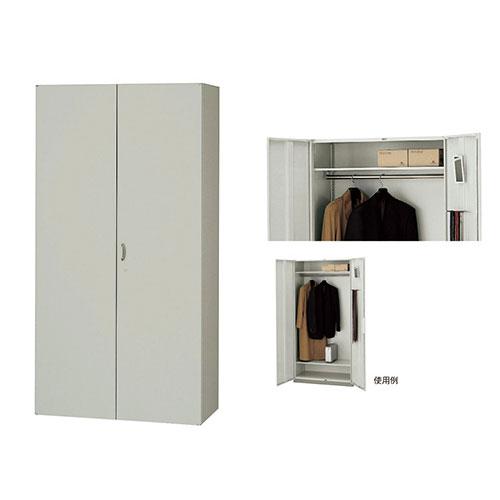 ワードローブ 鍵付 更衣ロッカー 棚 NW-0921W-AW ルキット オフィス家具 インテリア