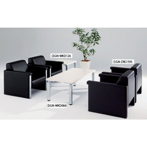応接セット チェアー テーブル 高級 ZRE159S-5S ルキット オフィス家具 インテリア