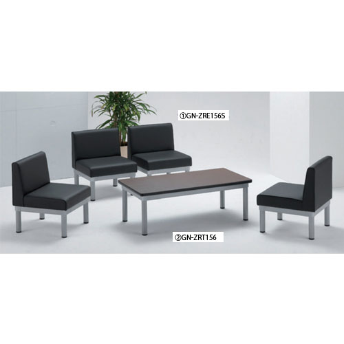 応接用家具 社長用 プレジデント イス ZRE156S-5S LOOKIT オフィス家具 インテリア