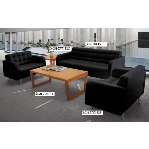 コーナーテーブル 高級 応接家具 木製 ZRT153C ルキット オフィス家具 インテリア