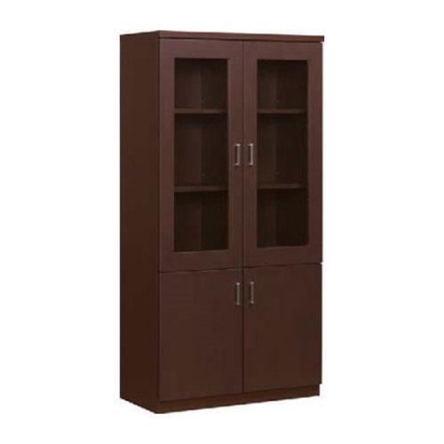 書棚 高級 木製 書庫 役員用家具 オフィス WR-820 ルキット オフィス家具 インテリア
