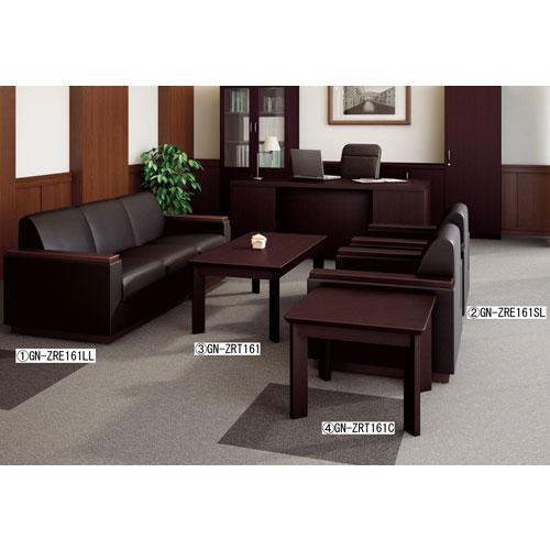 コーナーテーブル サイドテーブル 高級 ZRT161C ルキット オフィス家具 インテリア