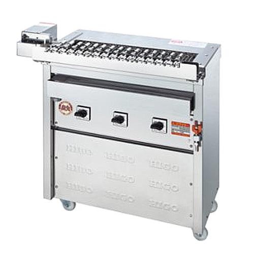 電気グリラー クルクル回転串焼機タイプ 3K-009X LOOKIT オフィス家具 インテリア