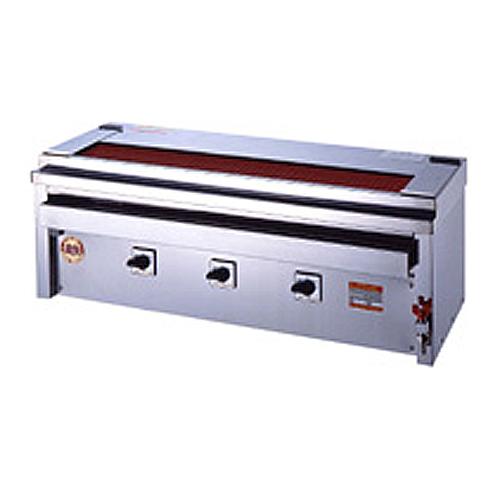 電気グリラー 卓上用 電気調理器 焼物 3P-212XWC LOOKIT オフィス家具 インテリア