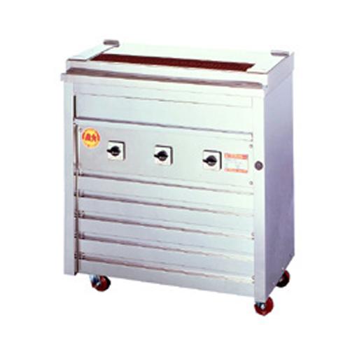 電気グリラー 焼き鳥用 床置型タイプ 3P-206K LOOKIT オフィス家具 インテリア