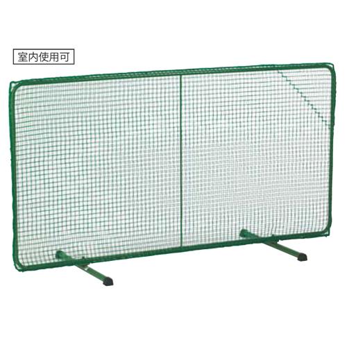 テニスフェンス 屋内兼用 折り畳み式 テニスネット ダブルネット 防球ネット 防球フェンス 部活動 スクール 省スペース 頑丈 テニス 練習 体育館 S-0162