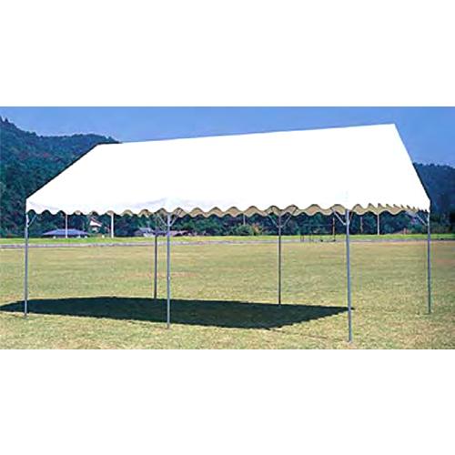 テント 中折れ式 3600×5400mm 屋外店舗 タープテント バザー 市場 施設 教育施設 運動施設 日本製 S-0518 ルキット オフィス家具 インテリア