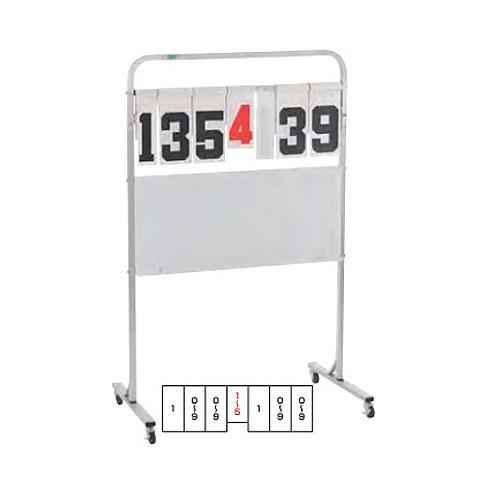 スコアボード キャスター付き 得点板 得点ボード 記録板 日本製 屋内 屋外 スポーツ 試合 スコア カウンター バスケット バスケ ホワイトボード S-0550 ルキット オフィス家具 インテリア