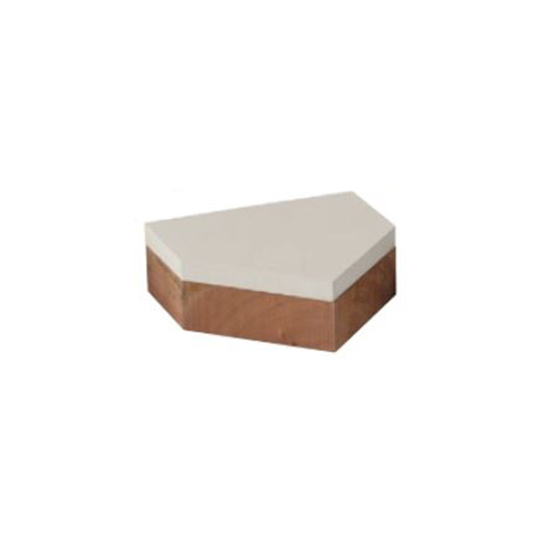 ホームベース 一般用 40PR 木台付き 高耐久品 ストロングホームベース 野球 ソフトボール スポーツ施設 野球場 校庭 グラウンド 設備 S-0635