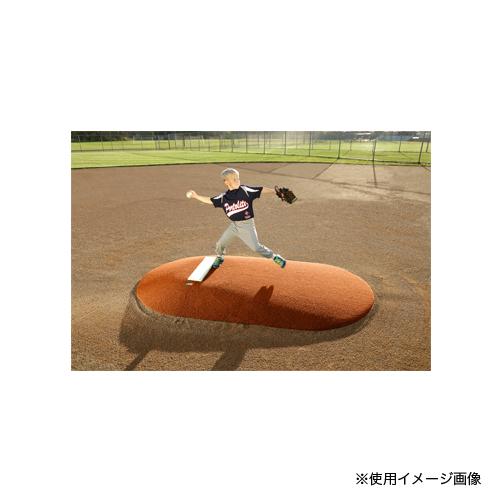 ポータブルピッチャーマウンド 高さ152mm 送料無料 工事不要 後付けピッチャーマウンド 野球用品 試合 練習 校庭 グラウンド 設備 備品 学校 S-0996
