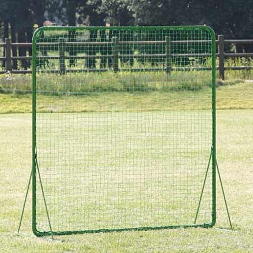 防球ネット 幅2m 高さ2m 自立式 日本製 シンプル グラウンド 野球 練習用 防護 ネット フェンス バックネット 守備 部活 テニス 野球用品 安全対策 S-4711