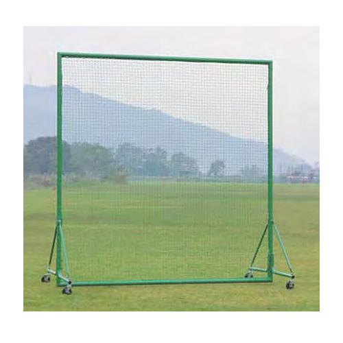 防護ネット 移動式 幅3m 高さ3m アルミ枠 国産 軽量 キャスター ストッパー付き 安全対策用 グラウンド フェンス 野球練習用具 部活 野球 テニス S-4773 ルキット オフィス家具 インテリア