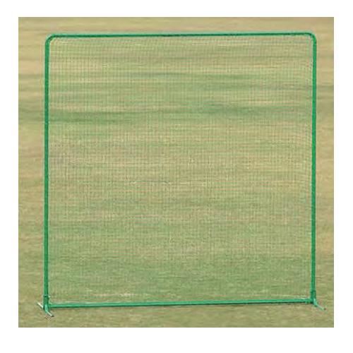 防護ネット キャスターなし 幅3m 高さ3m FW型 スチール製 国産 野球用品 グラウンド用 フェンス 野球練習用 部活 野球 テニス スポーツ用品 安全対策 S-4782 ルキット オフィス家具 インテリア