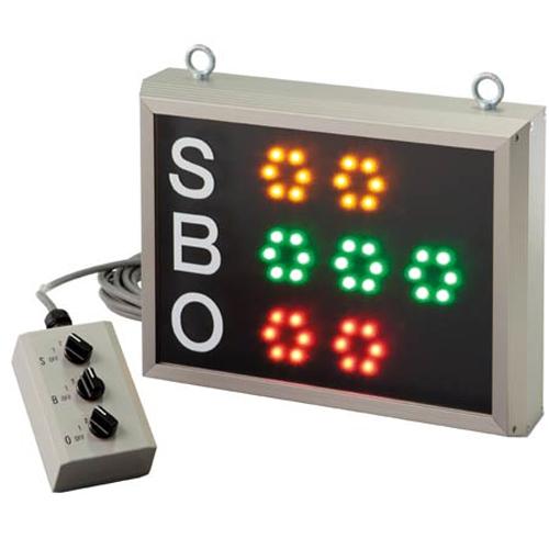 ★soldout★ カウンター 野球 SBO型 LED ランプ スコア LS-S-7120