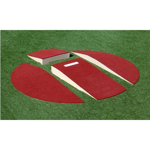 soldout ポータブルピッチャーマウンド ユースサイズ 分割仕様 直径3.04m×高さ203mm グラウンド設備 野球 試合 人工芝用ピッチャーマウンド S-9524