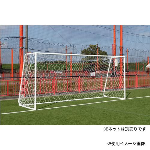 アルミサッカーゴール 少年用 2台1組 ネット別 サッカー用品 ゴール 練習 試合 軽量 運動施設 グラウンド 学校 クラブチーム S-0158