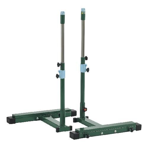 ショート支柱 移動式 多目的支柱 車輪付き ネット用支柱 レクリエーション 運動用品 スポーツ施設 学校 教育施設 用具 備品 設備 S-0454