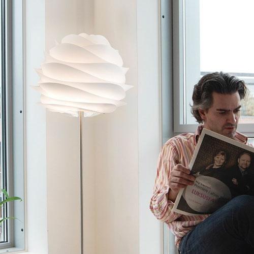 送料無料 CARMINA フロアランプ フロアライト フロアスタンド 新作 組み立て式 照明 デザイナーズ 北欧 デンマーク VITA 02056-FL ルキット オフィス家具 インテリア