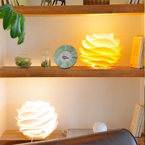 テーブルライト テーブルランプ LED カラフル 北欧 デンマーク デザイナーズ 間接照明 おしゃれ 植物 デスクライト ライト ランプ 照明 送料無料 02057-TL