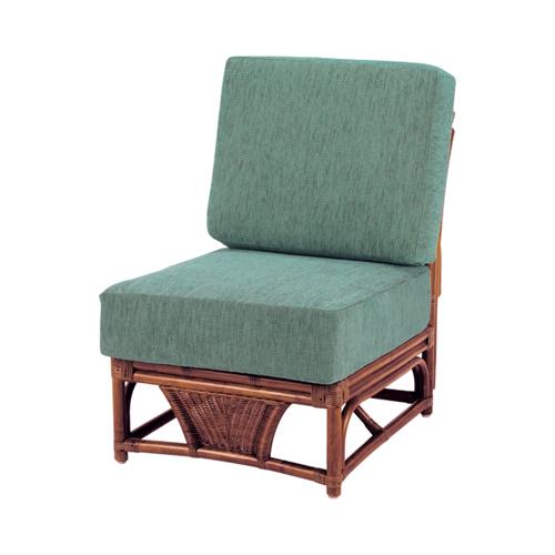 応接椅子 布張り 肘なしチェア 籐チェア 軽応接 来客スペース ロビー 応接家具 布張りチェア A-600-2D LOOKIT オフィス家具 インテリア