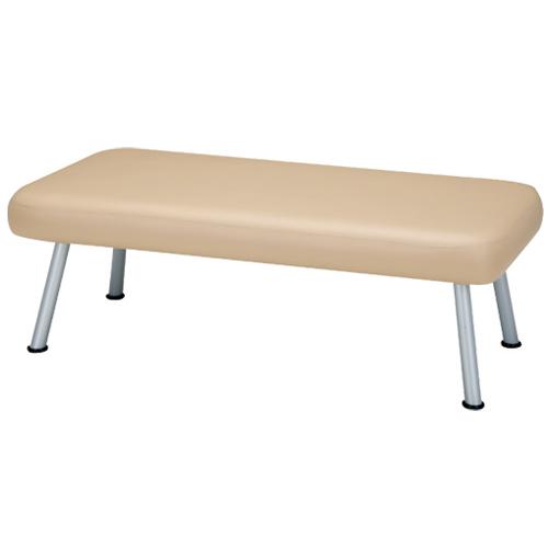ロビーチェア 背なし 2人掛け 長椅子 ベンチ ビニールレザー 待合室チェア 店舗用チェア オフィス 休憩室 ロビー MBC-1200