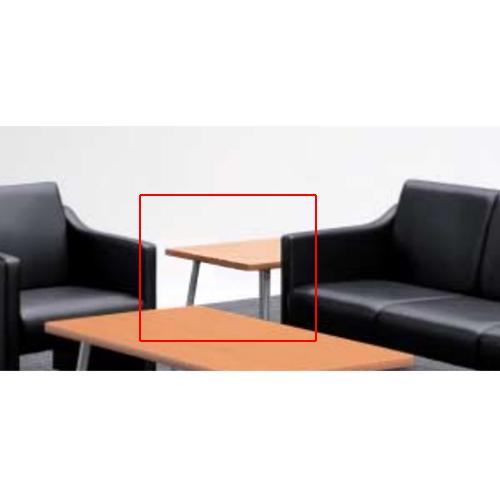 応接テーブル コーナーテーブル センターテーブル ソファーテーブル 机 応接家具 オフィス家具 スチール脚 応接室 役員室 TCT-660C