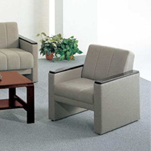 アームチェア 平織布張り イス 1人掛け 布張りチェア 応接用 応接家具 応接チェア TSSA-54A-AC LOOKIT オフィス家具 インテリア