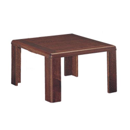 サイドテーブル センターテーブル 客室テーブル ソファーテーブル 机 役員室 応接室 役員用家具 木製 TSTL-1510-B-D2-TC LOOKIT オフィス家具 インテリア