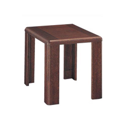 サイドテーブル 電話台 客室テーブル ソファーテーブル 机 役員室 応接室 役員用家具 木製 TSTL-1510-B-D2-TS ルキット オフィス家具 インテリア