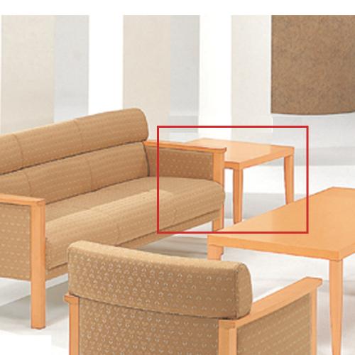 コーナーテーブル ローテーブル コンパクトテーブル ソファサイド 飾り台 応接用 TSTL-2040-NB-A LOOKIT オフィス家具 インテリア