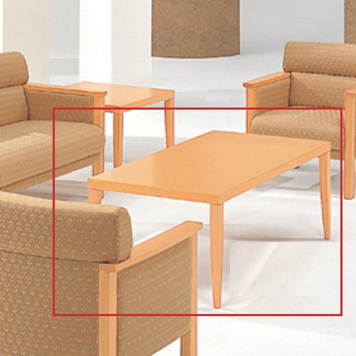 応接テーブル センターテーブル ローテーブル つくえ テーブル 木製テーブル 応接室 シンプル 机 TSTL-2040-NB-B LOOKIT オフィス家具 インテリア