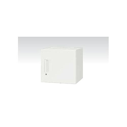 片開き書庫 高さ40cm 奥行45cm 上置き用 天袋型 キャビネット 書庫 収納ボックス 扉付き 鍵付き オフィス家具 収納ユニット コンパクト V445-04H ルキット オフィス家具 インテリア