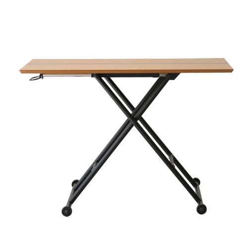 リフティングテーブル 木製テーブル 高さ調節 木製家具 テーブル 机 つくえ ウォルナット 北欧 おしゃれ RLT-4516 送料無料 ルキット オフィス家具 インテリア
