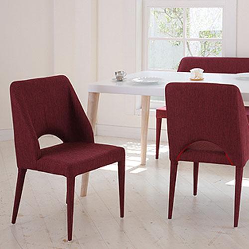 ダイニングチェア 布張り チェア おしゃれ シンプル かわいい レストラン リビング ダイニング 食卓用椅子 イス 椅子 食卓 キッチン 台所 送料無料 TDC-94045