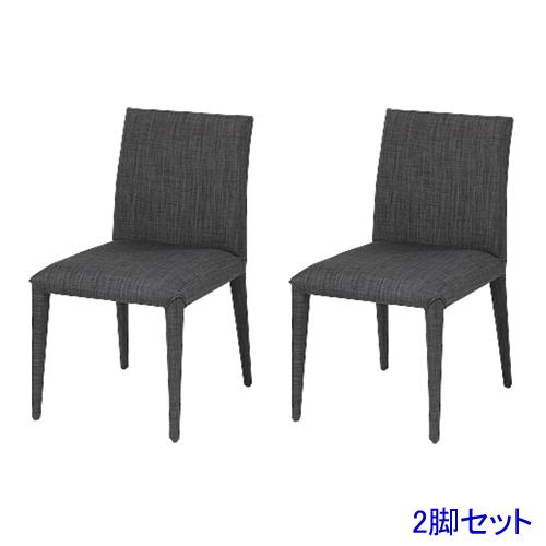 ダイニングチェア 2脚セット 布張りチェア チェア イス 食卓用椅子 レストラン モダン スタイリッシュ おしゃれ 送料無料 TDC-95659S ルキット オフィス家具 インテリア