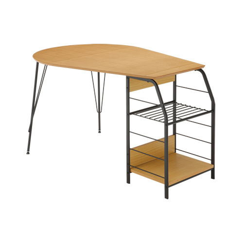 ダイニングテーブル 2人用 収納付き 木製テーブル 机 ナチュラル おしゃれ ダイニング テーブル TDT-11306