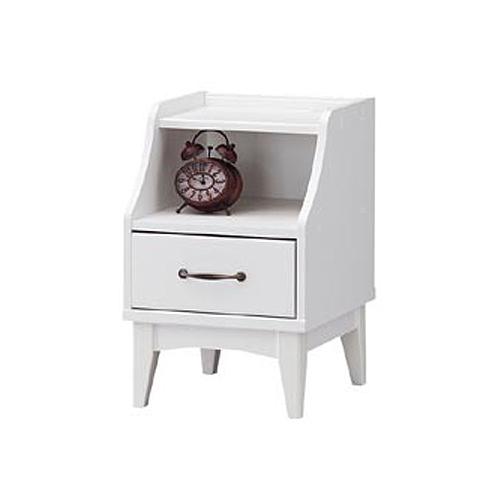 ナイトテーブル サイドテーブル ローテーブル ベッドサイドテーブル コンパクト 小型 収納 コンセント付き 小物収納 寝室 送料無料 RTA-6040H ルキット オフィス家具 インテリア