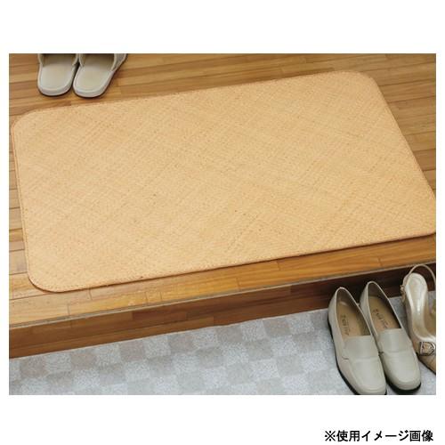 マット 約90×180cm 送料無料 ラタンカーペット 籐製マット 滑り止め付きラタンマット 玄関マット キッチンマット 脱衣所 アジアン 和風 2n390n