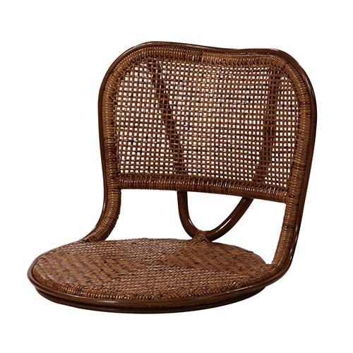 座椅子 籐チェア ラタン座椅子 籐座椅子 ラタンチェア ラタン家具 和室 籐家具 居間 温泉旅館 和モダン アジアン家具 アジロ編み C103HR 送料無料