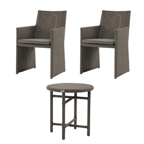 ガーデンセット テーブル チェア 椅子 イス いす 机 SET ガーデン用 家具 ファニチャー カフェテーブル アウトドア ガーデニング ガーデン 庭 C1901PGY T190PGY