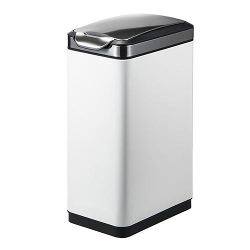 ゴミ箱 30L ホワイト ふた付き 角型 おしゃれ かわいい 清潔感 ごみ箱 屑入れ ダストボックス キッチン カウンター 1年保証 送料無料 EK9177MP-30L-WH