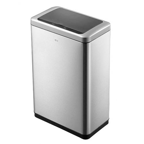 ゴミ箱 20L+20L センサー ふた付き 角型 ステンレス おしゃれ かっこいい 分別 ごみ箱 ダストボックス キッチン カウンター 1年保証 自動開閉 EK9233-20L-20L