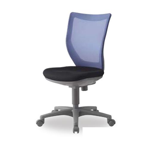 オフィスチェア 肘なし メッシュチェア デスクチェア ロッキング 高さ調節 キャスター付き オフィス 会議室 OAチェア パソコンチェア 送料無料 HBIT-MX45M0