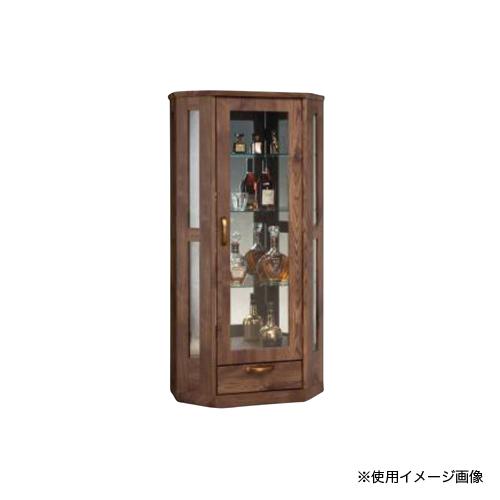 コレクションラック 送料無料 鍵付き収納 高さ139cm ディスプレイラック コレクションボード リビング収納 ブレス 70(L)飾り棚 BLESS-70CRL