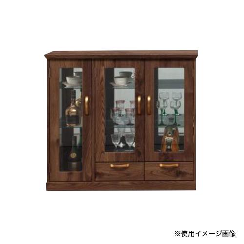 コレクションラック 送料無料 飾り棚 コレクションボード リビングボード ディスプレイラック サイドボード リビング収納 クラーク 100飾棚 CLARK-100CR