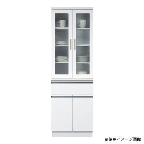 キッチンボード 送料無料 食器棚 カップボード シンプル 大型収納 キッチン収納 レンジ台 家電収納 日本製 国産 食品棚 収納棚 プール 60DB食器 POOL-60DB