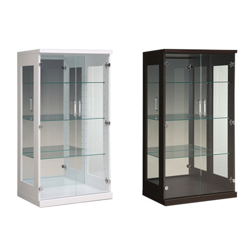 コレクションラック 送料無料 コレクションボード ガラスボード キッチンボード 食器棚 収納 ラック スタバ(L) SUTABA-70CRL 【着日指定不可】