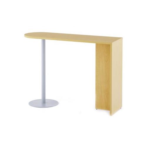 ハイタイプサイドテーブル カウンターテーブル オフィス つくえ 【法人限定】ハイカウンター サイドテーブル 幅1400×奥行450×高さ1000mm ハイテーブル カウンター 作業テーブル オフィス家具 休憩スペース RFHCST-1445