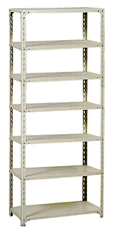 軽量ラック A-8445 店舗倉庫用 在庫棚 商品棚 ルキット オフィス家具 インテリア