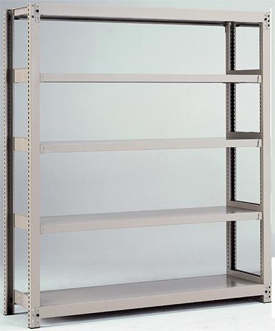 中量ラック 3MH-4545-4 本棚 システムラック 連結 LOOKIT オフィス家具 インテリア